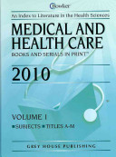 Medical and Health Care PDF