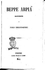 Beppe Arpia racconto di Paolo Emiliani-Giudici