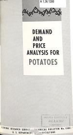 Demand and Price Analysis for Potatoes