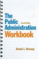 Public Administration Workbook  The  CourseSmart eTextbook PDF