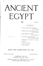 Ancient Egypt PDF