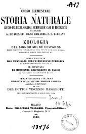 Corso elementare di storia naturale: Zoologia