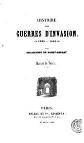 Histoire des guerres d'invasion (1328-1508): maison de Valois