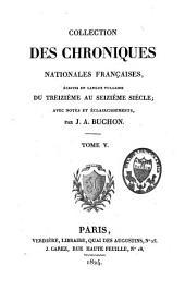 Les chroniques: ... poésies, Volume14