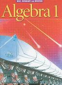 Algebra 1, Grade 9