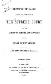 New Jersey Law Reports: Volume 26