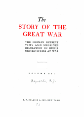 The story of the great war: with complete historical record of events to date, Volume 12