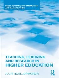 Teaching  Learning and Research in Higher Education PDF