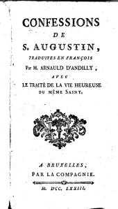 Confessions de S. Augustin