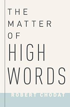 The Matter of High Words PDF