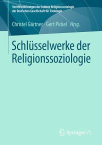 Schl  sselwerke der Religionssoziologie PDF