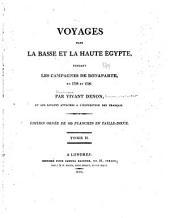 Voyages dans la Basse et la Haute Égypte: pendant les campagnes de Bonaparte, en 1798 et 1799, Volume2