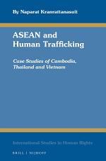 ASEAN and Human Trafficking