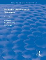 Manual of Online Search Strategies