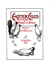 Easter eggs, from the Germ., illustr. by M.V. Wheelhouse