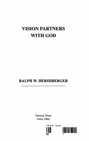 Vision Partners with God PDF