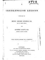A Greek English Lexicon PDF