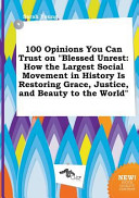 100 Opinions You Can Trust on Blessed Unrest PDF