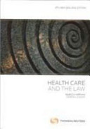 Download Health Care and the Law Book