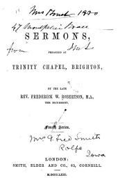 Sermons Preached at Trinity Chapel, Brighton: Volume 1