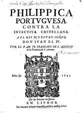 Philippica Portuguesa contro la invectiva Castell