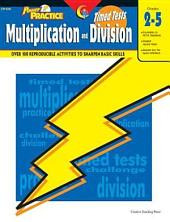 Power Practice: Math Timed Tests: Multiplication and Division, eBook