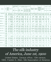 The Silk Industry of America, June 1st, 1900