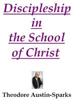 Discipleship in the School of Christ PDF
