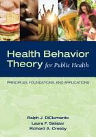 Health Behavior Theory for Public Health PDF
