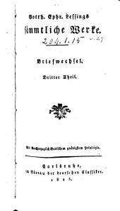 Gotth. Ephr. Lessings sämmtliche Werke: Bände 29-30