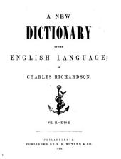 A New Dictionary of the English Language: Volume 2