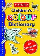 The Oxford Children s Colour Dictionary PDF