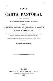 Sexta carta pastoral escrita desde Roma