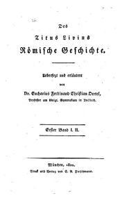 Römische Geschichte: I. II.