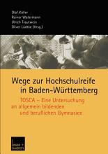 Wege zur Hochschulreife in Baden W  rttemberg PDF