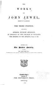 The Works of John Jewel: Volume 3