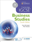 Cambridge IGCSE Business Studies PDF