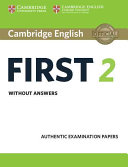 Cambridge English First 2 Student s Book without answers PDF