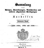 Sammlung von Gesetzen, Verordnungen, Ausschreiben und sonstigen allgemeinen Verfügungen für die kurhessischen Staaten: Band 7