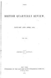 The British Quarterly Review: Volumes 61-62