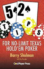 52 Tips for No-Limit Texas Hold'em Poker