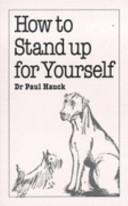 How to Stand Up for Yourself Book