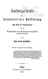 Allgemeine kulturgeschichte von der urzeit bis auf die gegenwart: Bände 5-6