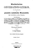 Musikalisches Conversations Lexikon0 PDF