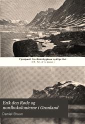 Erik den Røde og nordbokolonierne i Grønland
