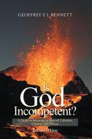 Is God Incompetent  PDF
