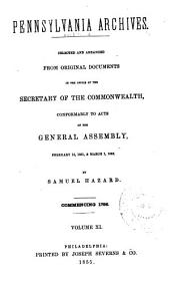 Pennsylvania Archives: Volume 11