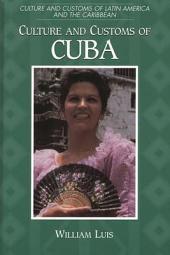 Culture and Customs of Cuba