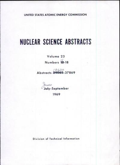 Nuclear Science Abstracts PDF