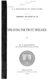 Spraying for Fruit Diseases